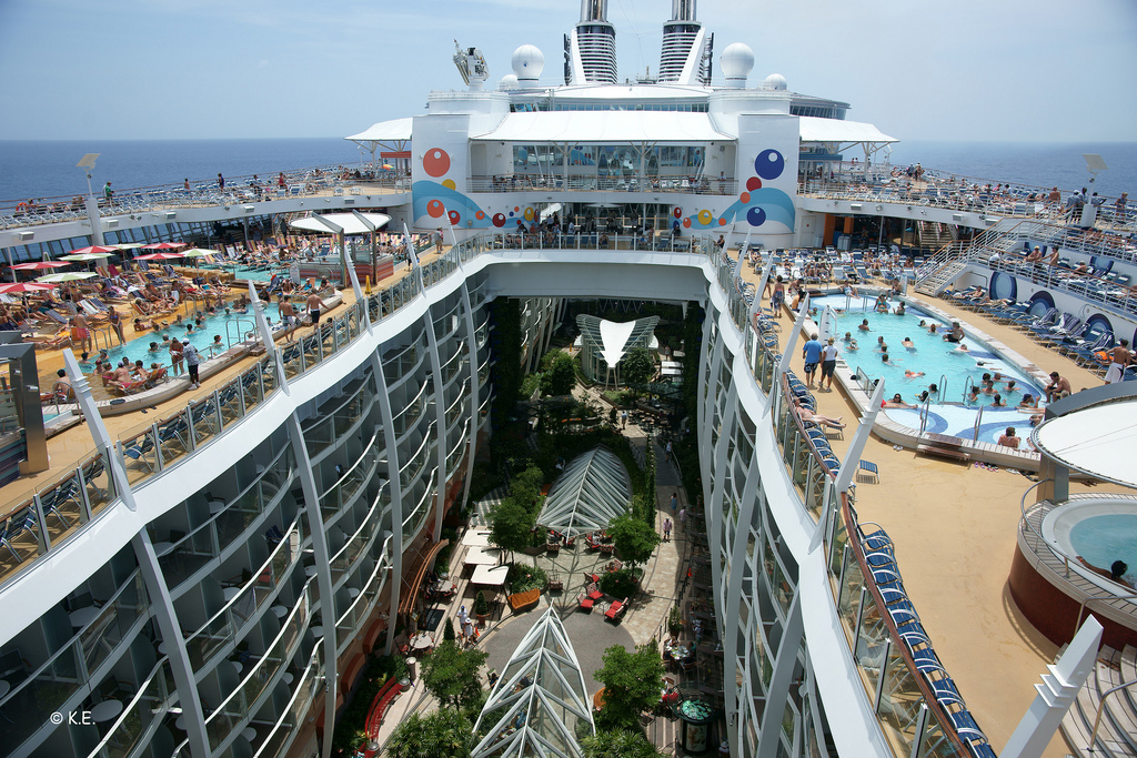 Nave da Crociera Oasis of the Seas impatto ambientale