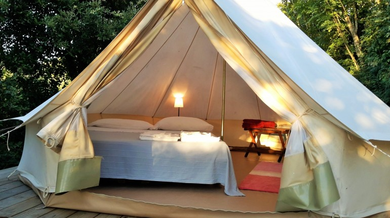 Glamping, Toscana