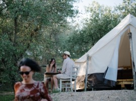 The Lazy Olive, Glamping a Siena