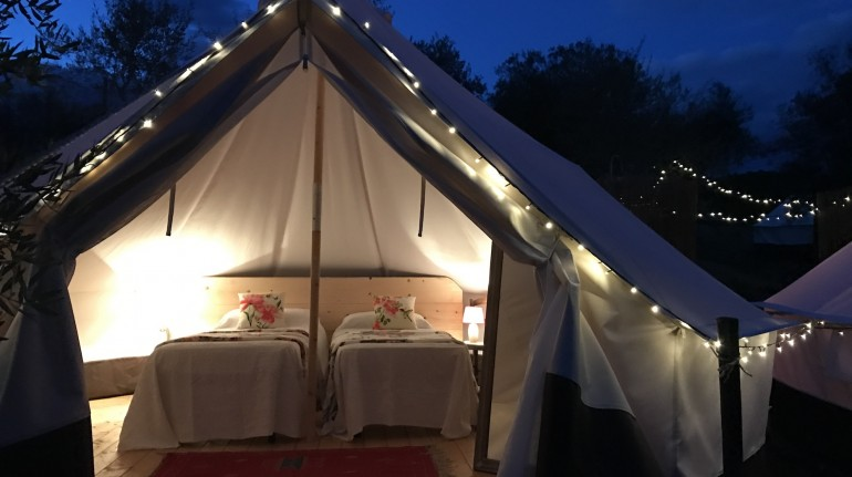 Glamping chic in Toscana