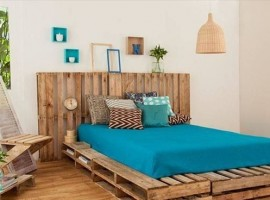 Letto in pallet