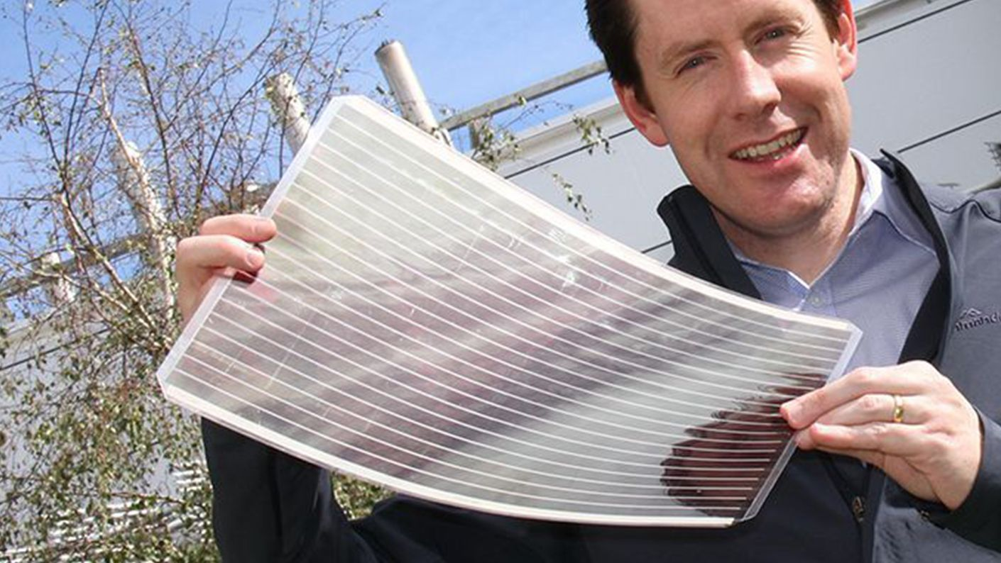 photograph about Printable Solar Cell named 5 techniques for renewable electrical energy
