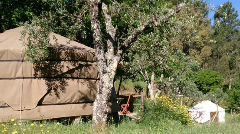 Yurt Retreat, Glamping in Portogallo