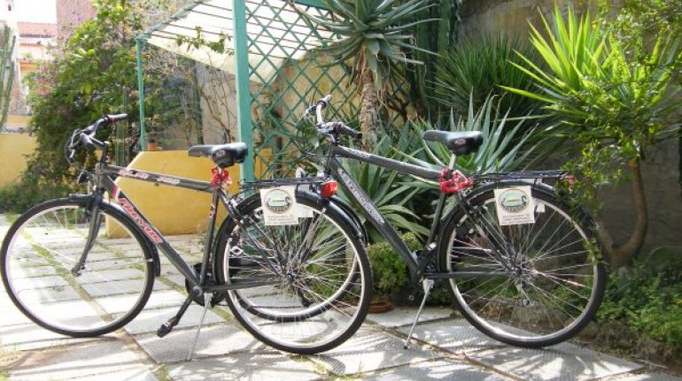 Mountain bike gratuite al B&B Gaulos a Sant'Antioco