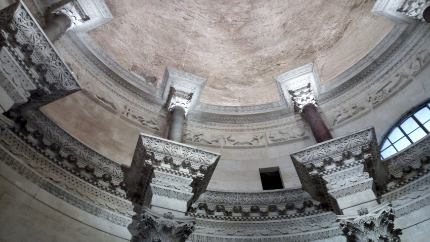 What to do in Split? Admire the perfect shapes of Diocletian's Mausoleum