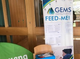 Stand Feed Me! a Werfenweng, foto di GEMS Project