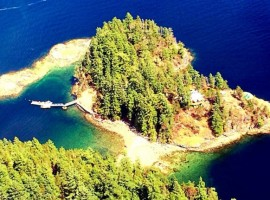 Un'isola privata e off-grid
