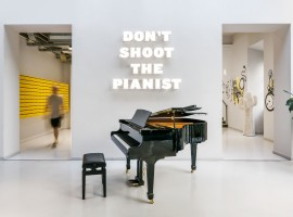 The Student Hotel Firenze, Area comune con Pianoforte