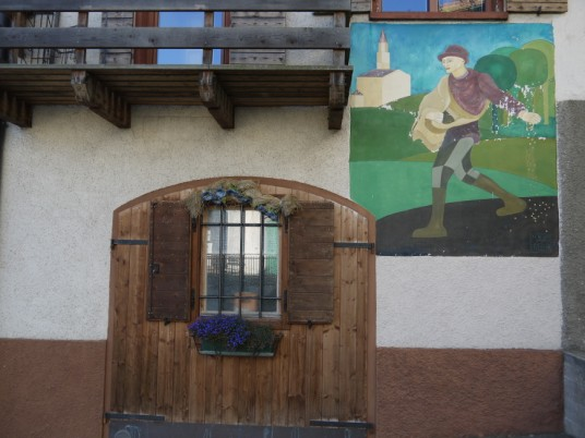 Murales a Guardia, il paese dipinto
