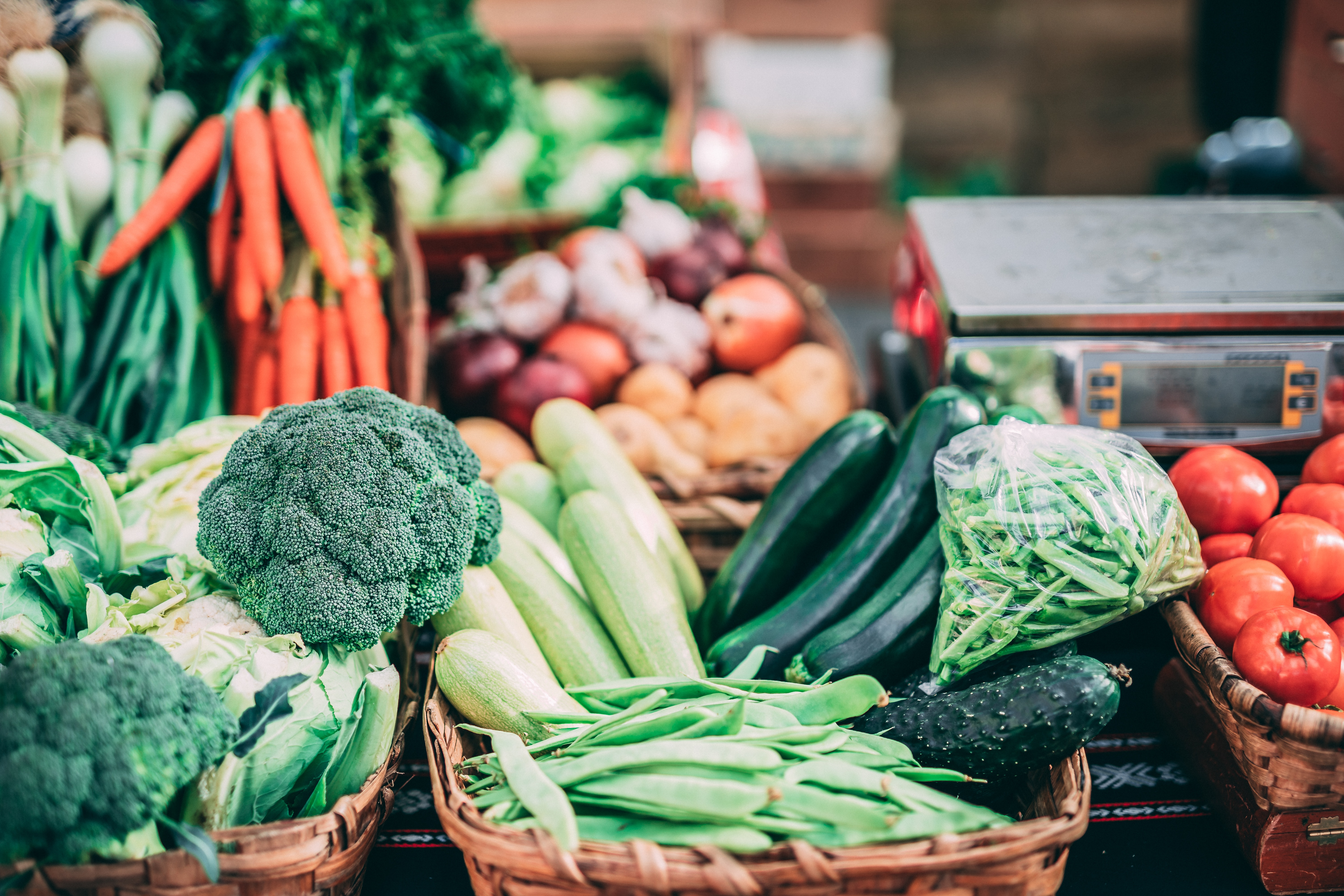 Doing your shopping in local markets is a good idea to make Informed Purchases