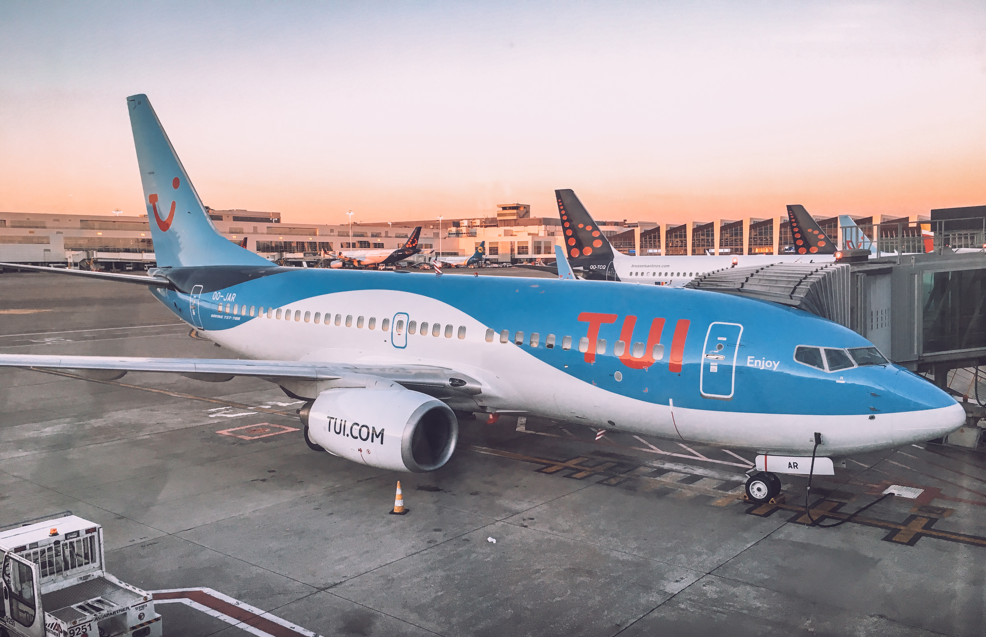 aircraft of the TUI GROUP, a giant for global tourism
