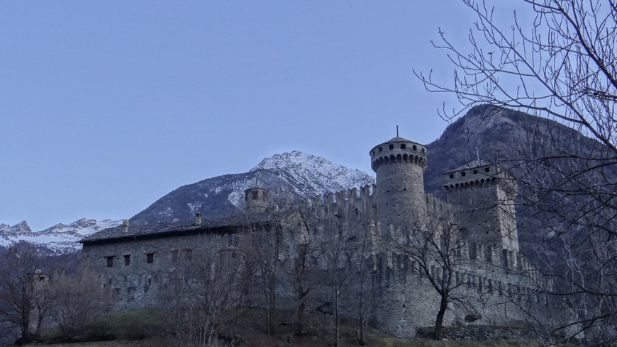 Castle of Fenis, Aosta, Italy, ph. by molamolax