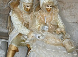 Masks at Carnival of Venice 2010 b F Kovalchek via Flickr