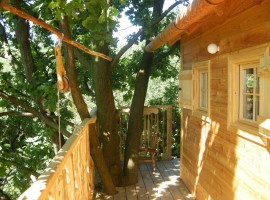 3 amazing tree houses and hotels in italy ecobnb - Il giardino dei semplici cuneo ...