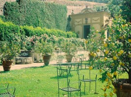Villa Medicea Belcanto in Fiesole the Limonaia Florence by Mary Ann via Flickr