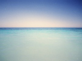 The different shades of blue at Is Arutas by Piermario