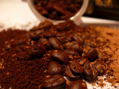 Coffee ground by Nathan via Flickr