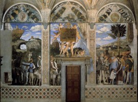 Painting by Andrea Mantegna, in Mantua
