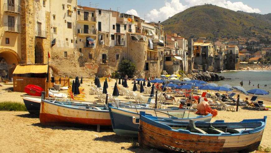 Cefalù, an italian Virtuous Municipality in Palermo Province, Sicily