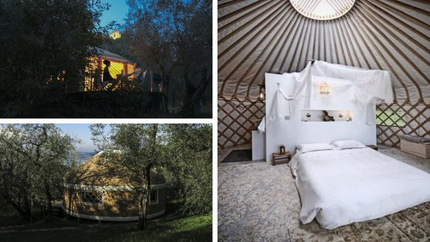 Glamping near the Garda Lake, Brescia, Italy