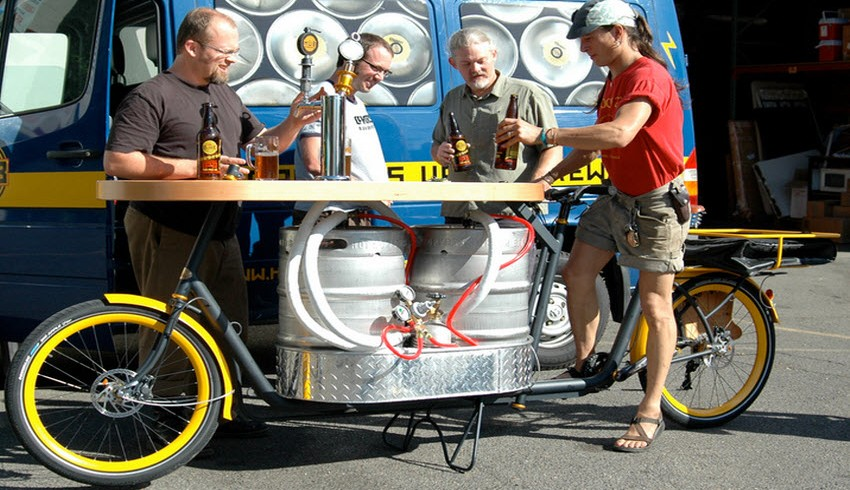 Pub on a bike