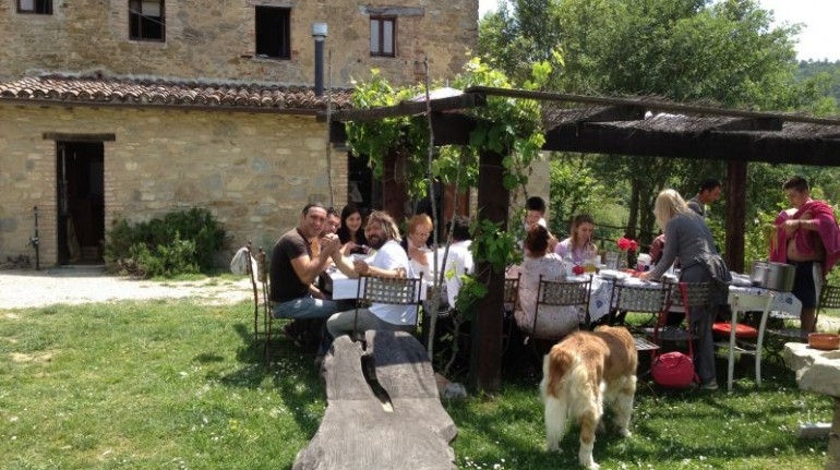 Tribewanted Monestevole for a farm holiday in Umbria