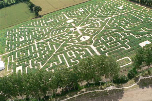 Bien connu Labyrinths in France: discovering Natural riddles - Ecobnb SC88