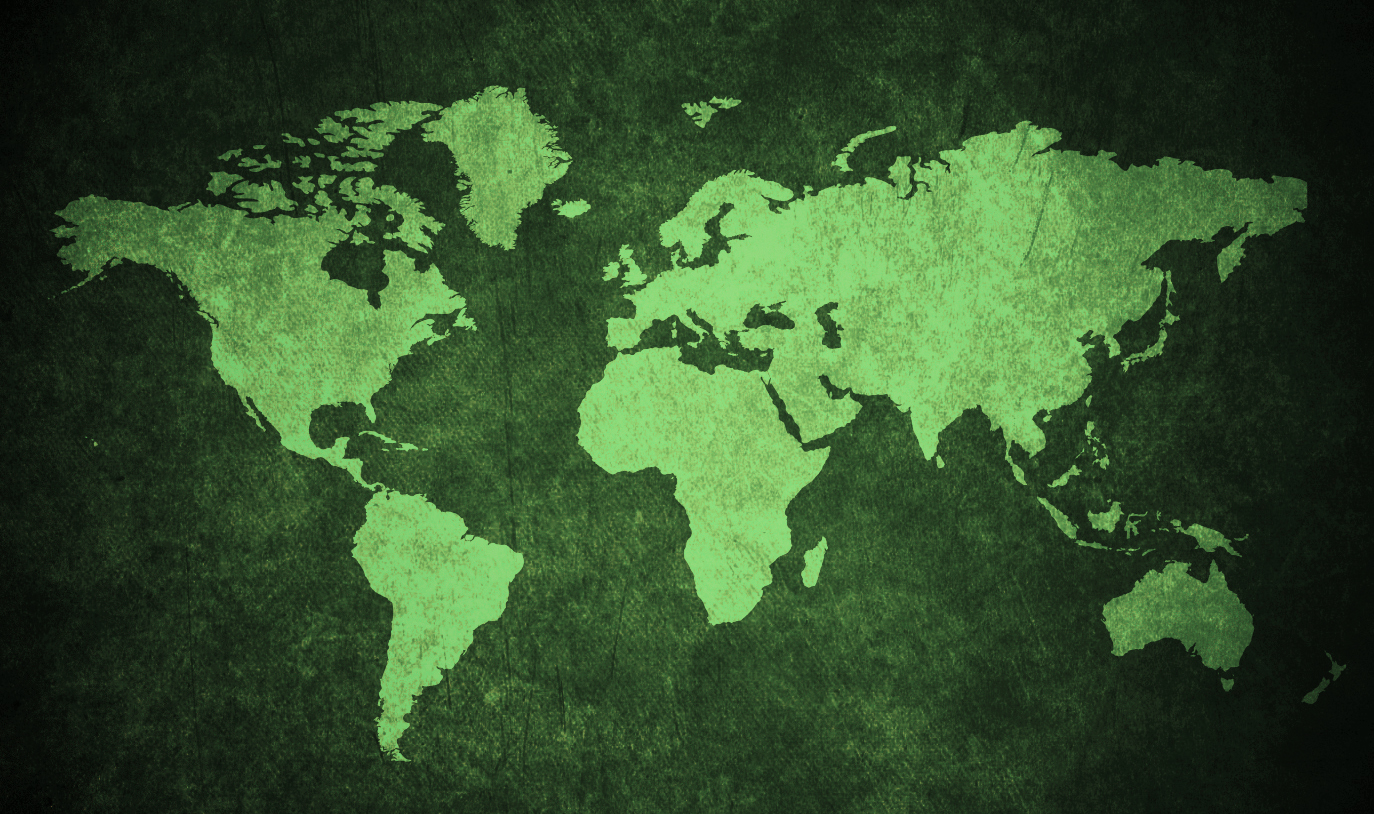 The Map Of The Greenest Countries In The World Ecobnb