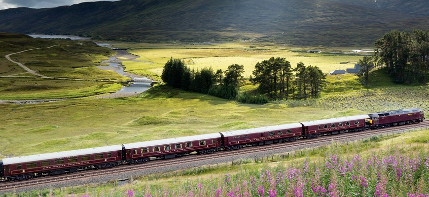 Belmont Royal Scotsman, one of the most beautiful travels by train