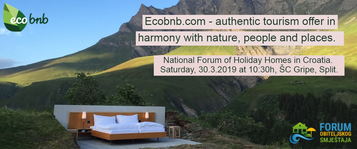 Ecobnb.com - authentic tourism offer in harmony with nature, people and places