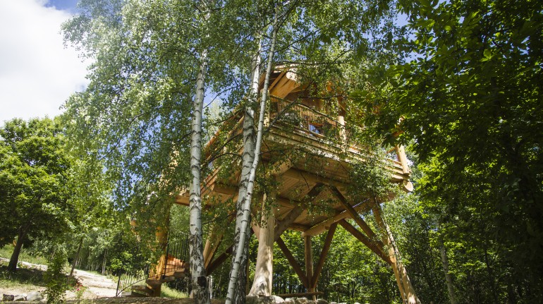 La Quiete, lovely tree house in Piemonte, unusual accommodations
