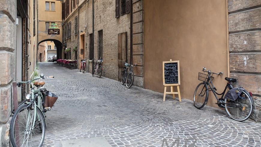 Ferrara by bike