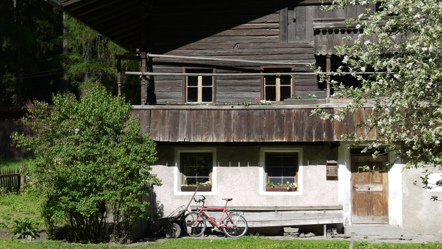 Ancient house in Ahrntal