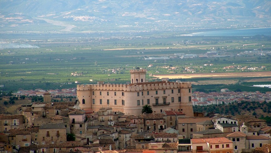 The Castle of Corigliano Calabro, Calabria