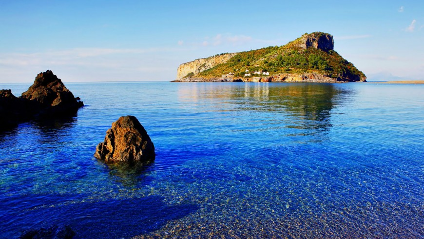 The Isle of Dino, Calabria