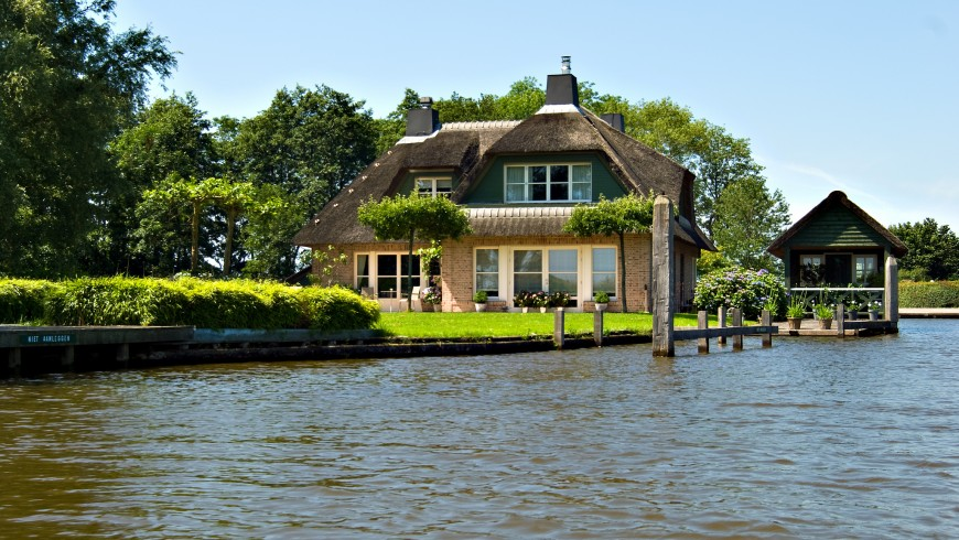 Giethoorn, the village without roads