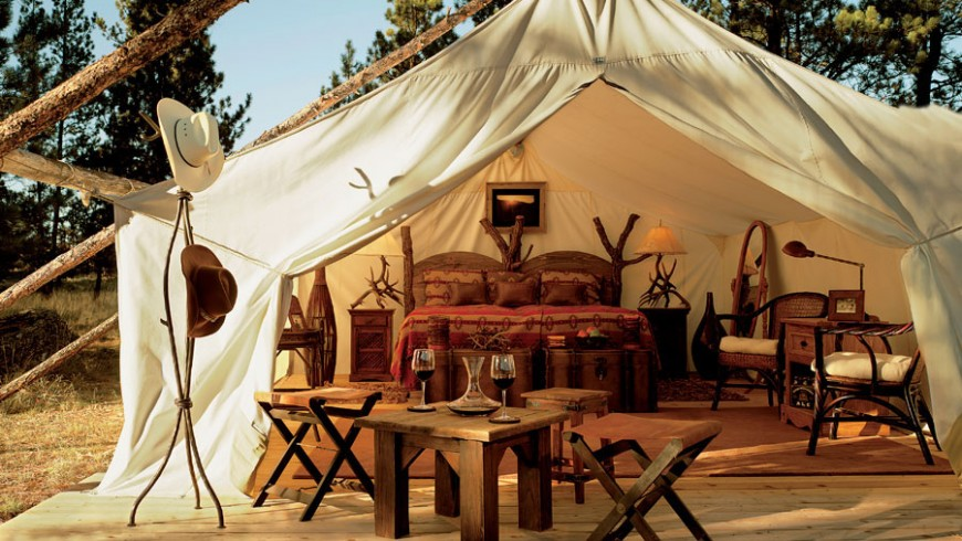 Top 10 eco-friendly glamping in the world