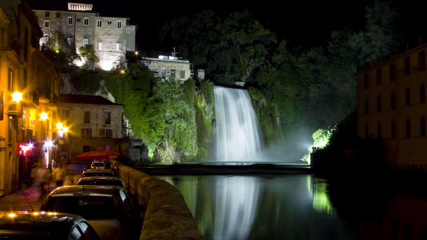 The waterfall of Isola del Liri