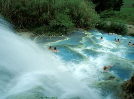 Mill waterfall, Saturnia (Grosseto)