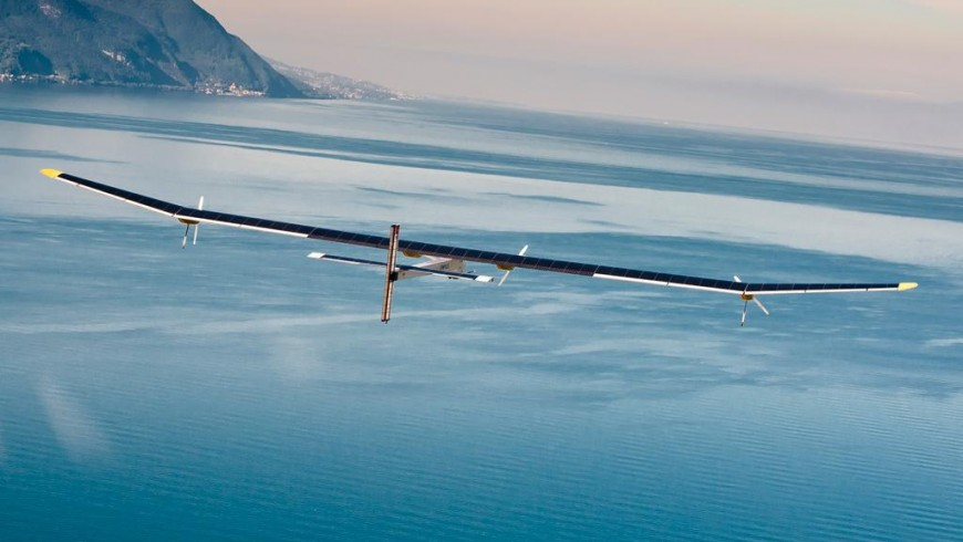 Solar Impulse 2 - the first travel around the world with solar energy