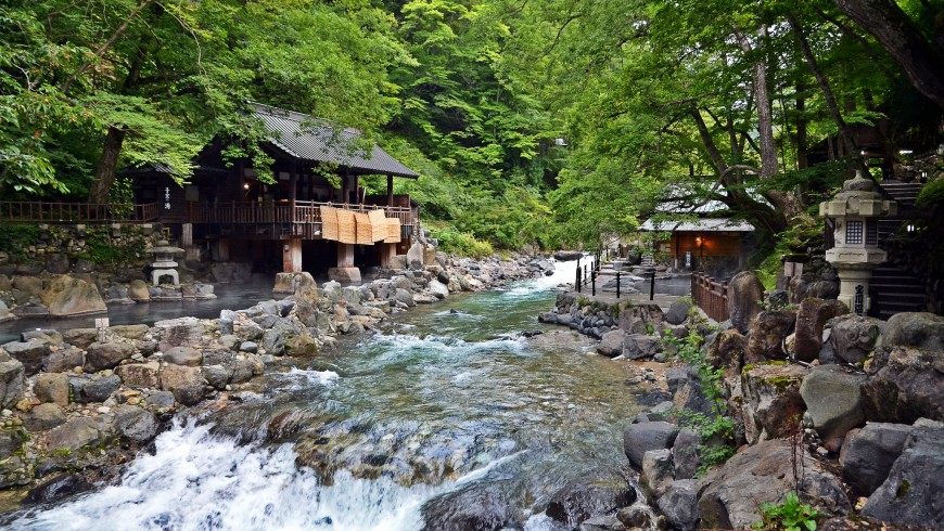 Takaragawa Onsen, hot springs in Japan