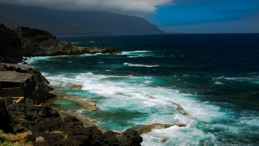 Valle de Golfo, El Hierro, among the most beautiful natural pools of Europe
