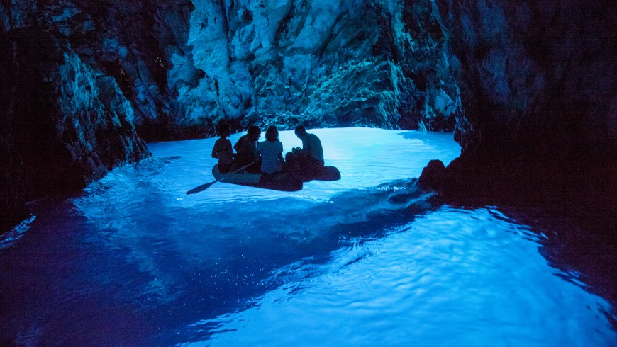 Blue Grotto, Croatia