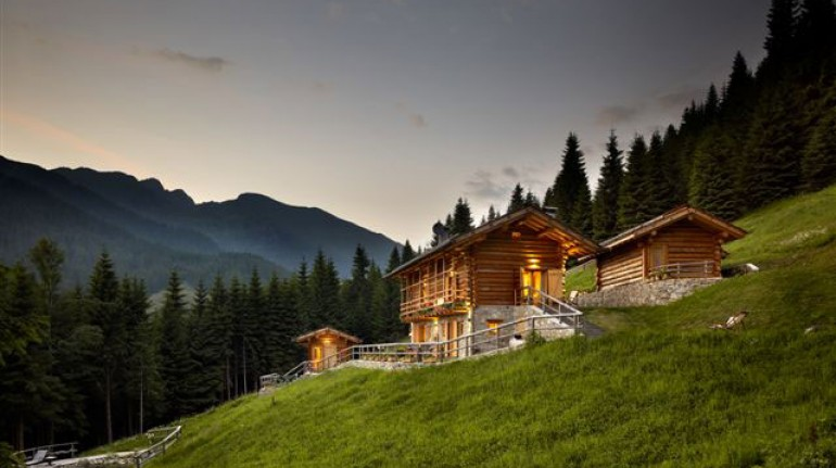 Eco-chalet in Italy