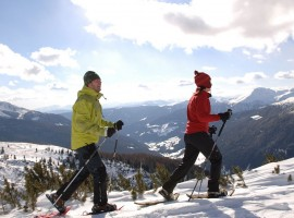 snowshoeing - Car-free holidays in the Alpine Pearls