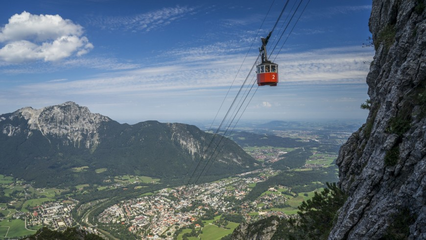 oldest cable car in the world in Bad Reichenhall
