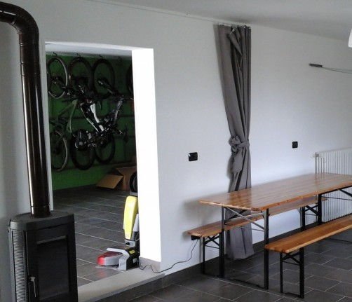 Room & Breakfast Tolasudolsa, one of the first bike hotels in Italy