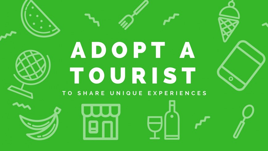 Adopt a tourist is the contest to share unique experiences. Submit and win a free weekend!