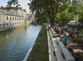 Ljubljana, Slovenia- one of the green destinations to visit this year