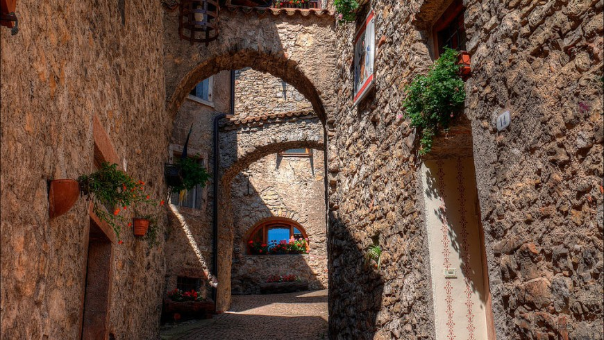Canale di Tenno, one of the most beautiful villages in Trentino